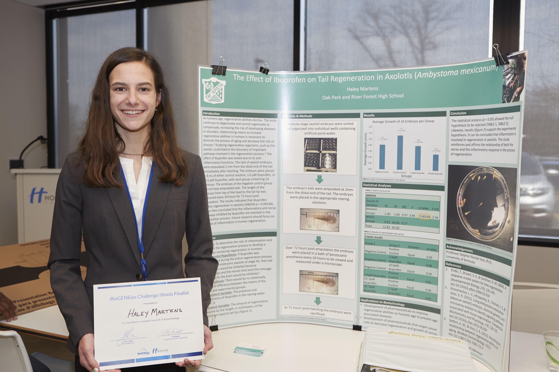 """iBIO Institute Announces Winner of """"Illinois BioGENEius Challenge"""" Student Competition"""