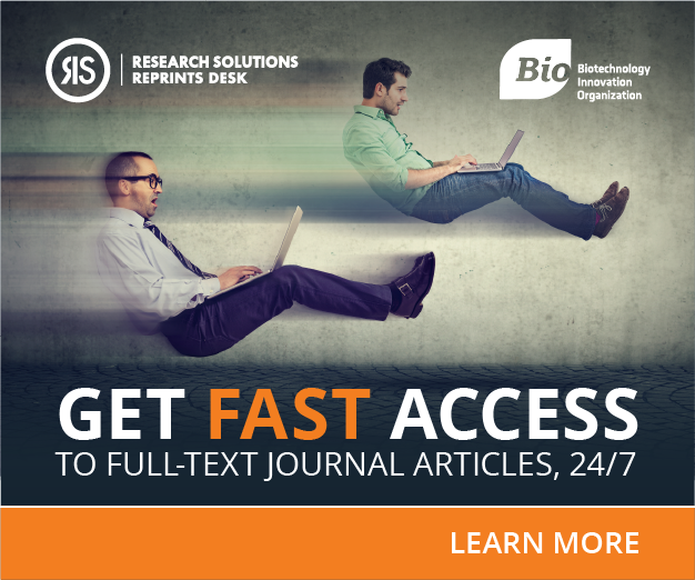 New Member Benefit: Savings On Full-Text Scientific Literature Access