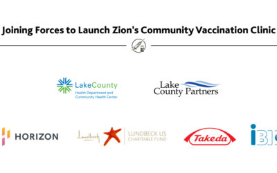 Lake County Life Science Leaders Join Forces to Launch New COVID-19 Vaccine Clinics in Zion