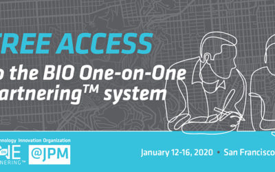 Headed to #JPM20? iBIO Members get free access to BIO's 1X1 Partnering System and Discounted Meeting Space