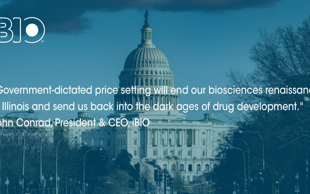 Drug Pricing Legislation Will Kill Illinois' Startup Bioscience Industry