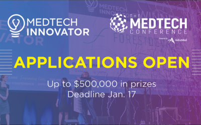 MedTech Innovator Now Accepting Applications for 2020 Program